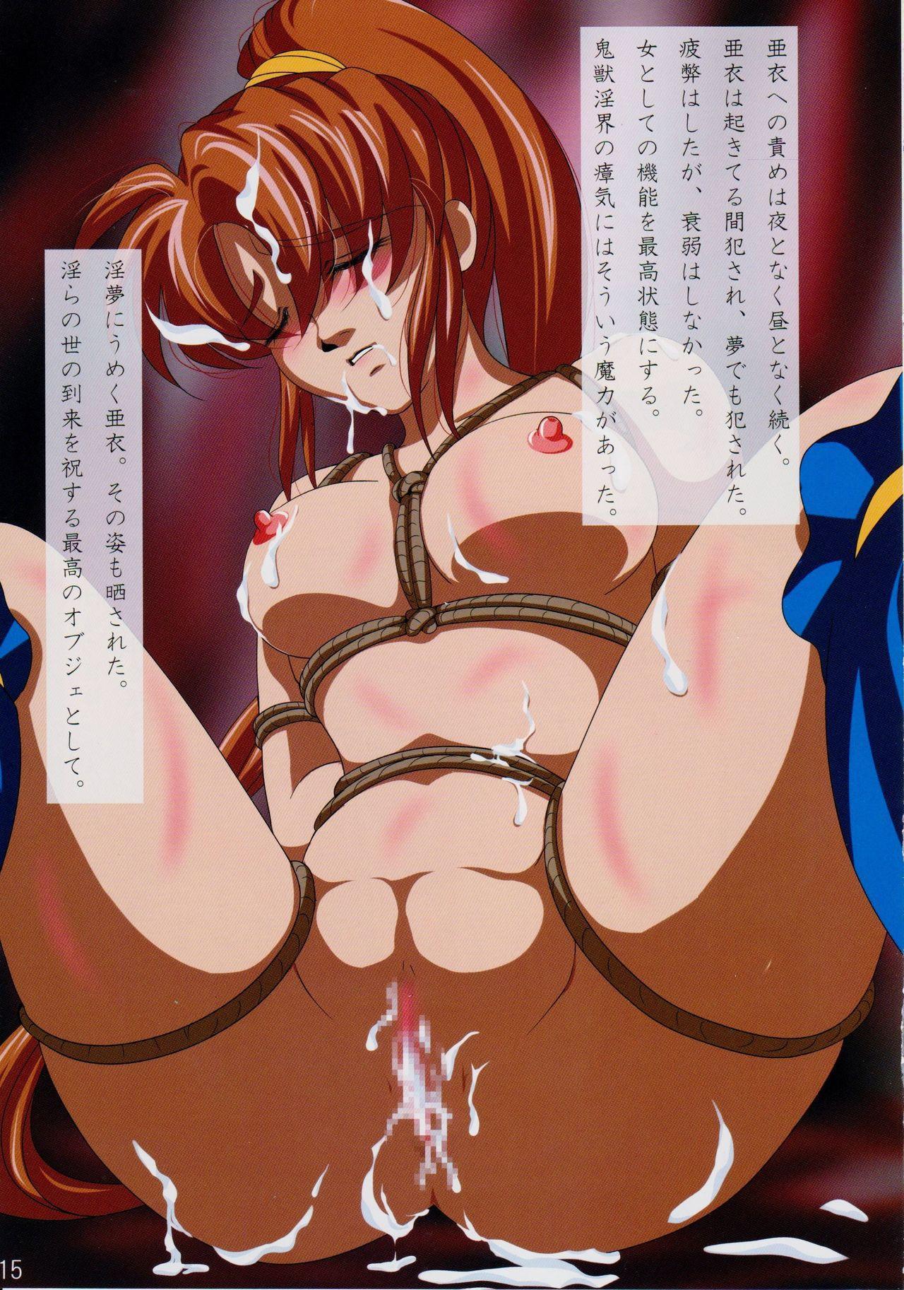 Tennyo no Chi o Hiku Hime Miko Amatsu Ai no Ochiru Toki Rakuin no Hime Miko 2 16