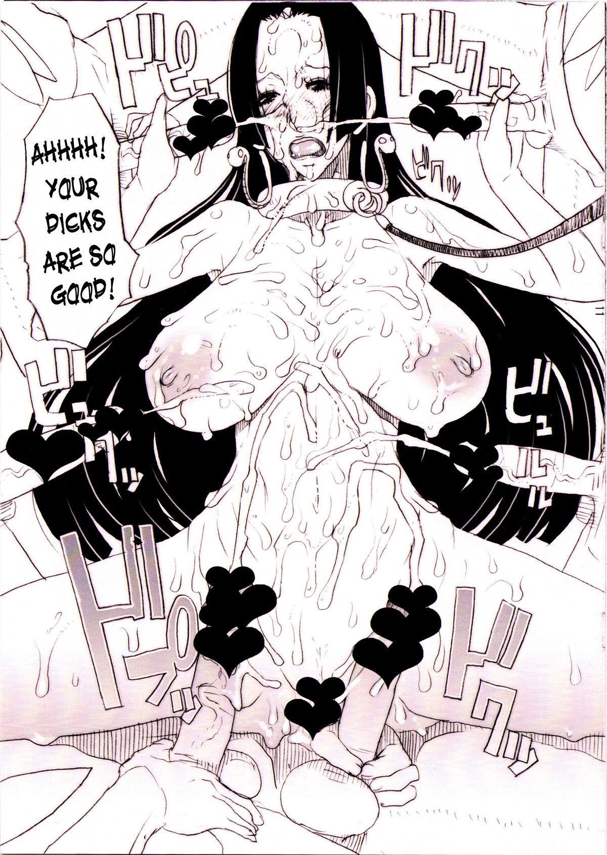 Hancock no Dorei Janyuu-sama Hon 10