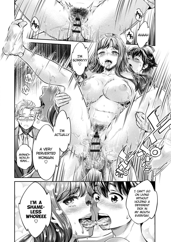 [Umemaru, Mizuryu Kei] Ishoku Bitch to YariCir Seikatsu Ch. 1-7 | The Fuck Club's Different Hues of Ho Ch. 1-7 [English] [1F47B] [Digital] 131