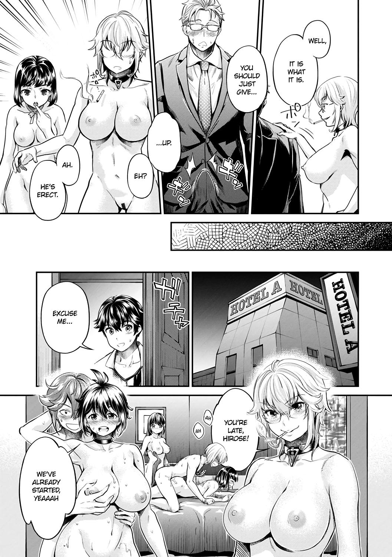 [Umemaru, Mizuryu Kei] Ishoku Bitch to YariCir Seikatsu Ch. 1-7 | The Fuck Club's Different Hues of Ho Ch. 1-7 [English] [1F47B] [Digital] 136