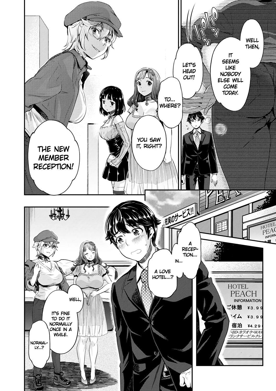 [Umemaru, Mizuryu Kei] Ishoku Bitch to YariCir Seikatsu Ch. 1-7 | The Fuck Club's Different Hues of Ho Ch. 1-7 [English] [1F47B] [Digital] 13