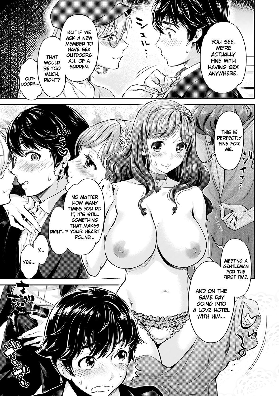 [Umemaru, Mizuryu Kei] Ishoku Bitch to YariCir Seikatsu Ch. 1-7 | The Fuck Club's Different Hues of Ho Ch. 1-7 [English] [1F47B] [Digital] 14