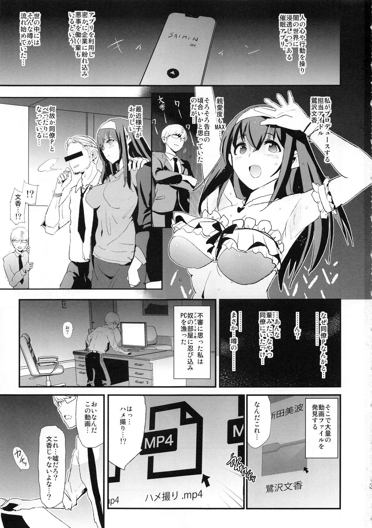 Sagisawa Fumika no Dosukebe Hamedori Interview + Omake Paper 2