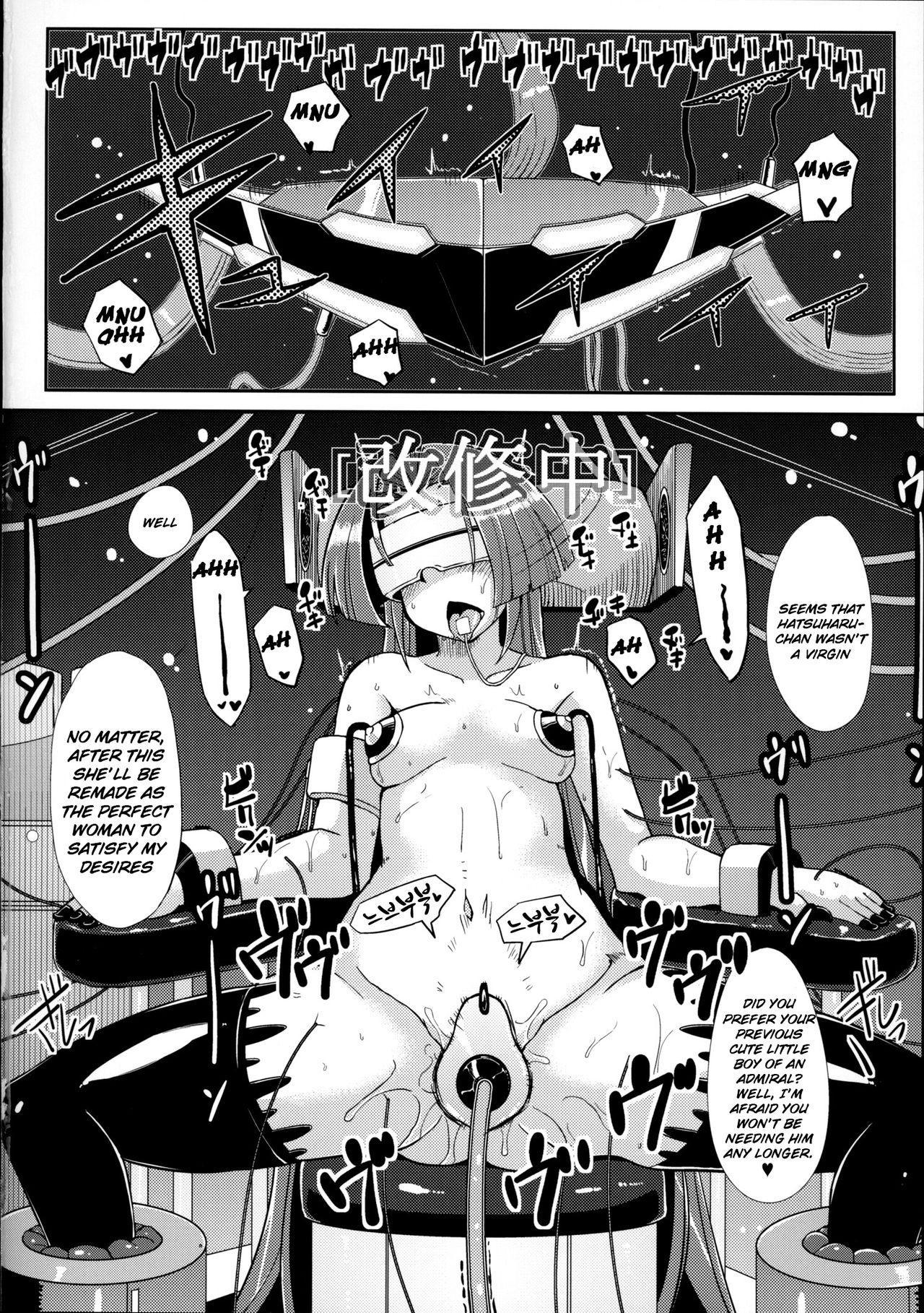 Dorei Shoufukan Hatsuharu | The Ship-Girl Hatsuharu Becomes an Enslaved Whore. 4