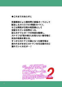 Charisma AV Danyuu ga Zetsurin Orc ni Isekai Tensei Shita Hanashi. 2 2