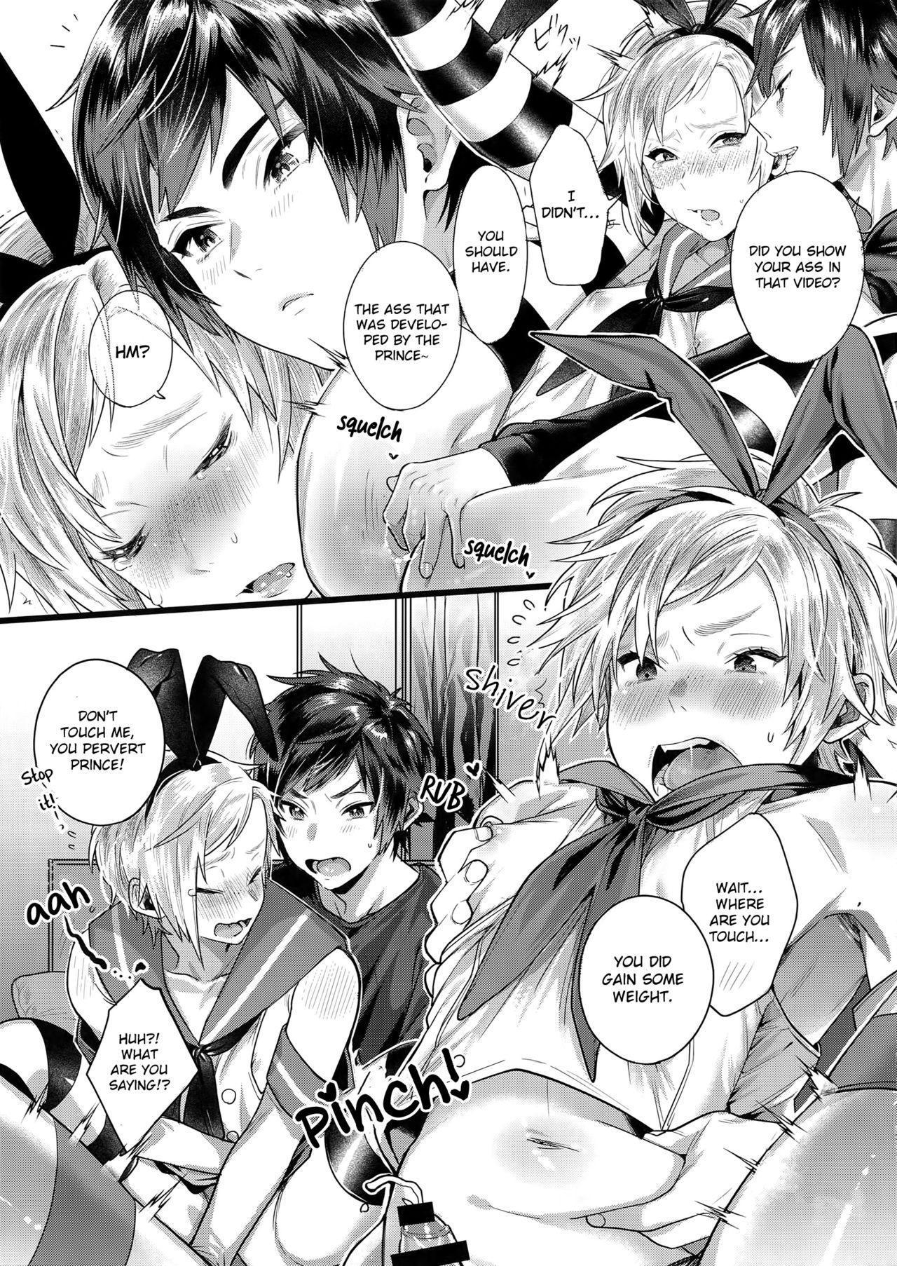 Taikei Iji no Shudan   Prompto Argentum-kun's Means For Maintaining His Body Shape! 7