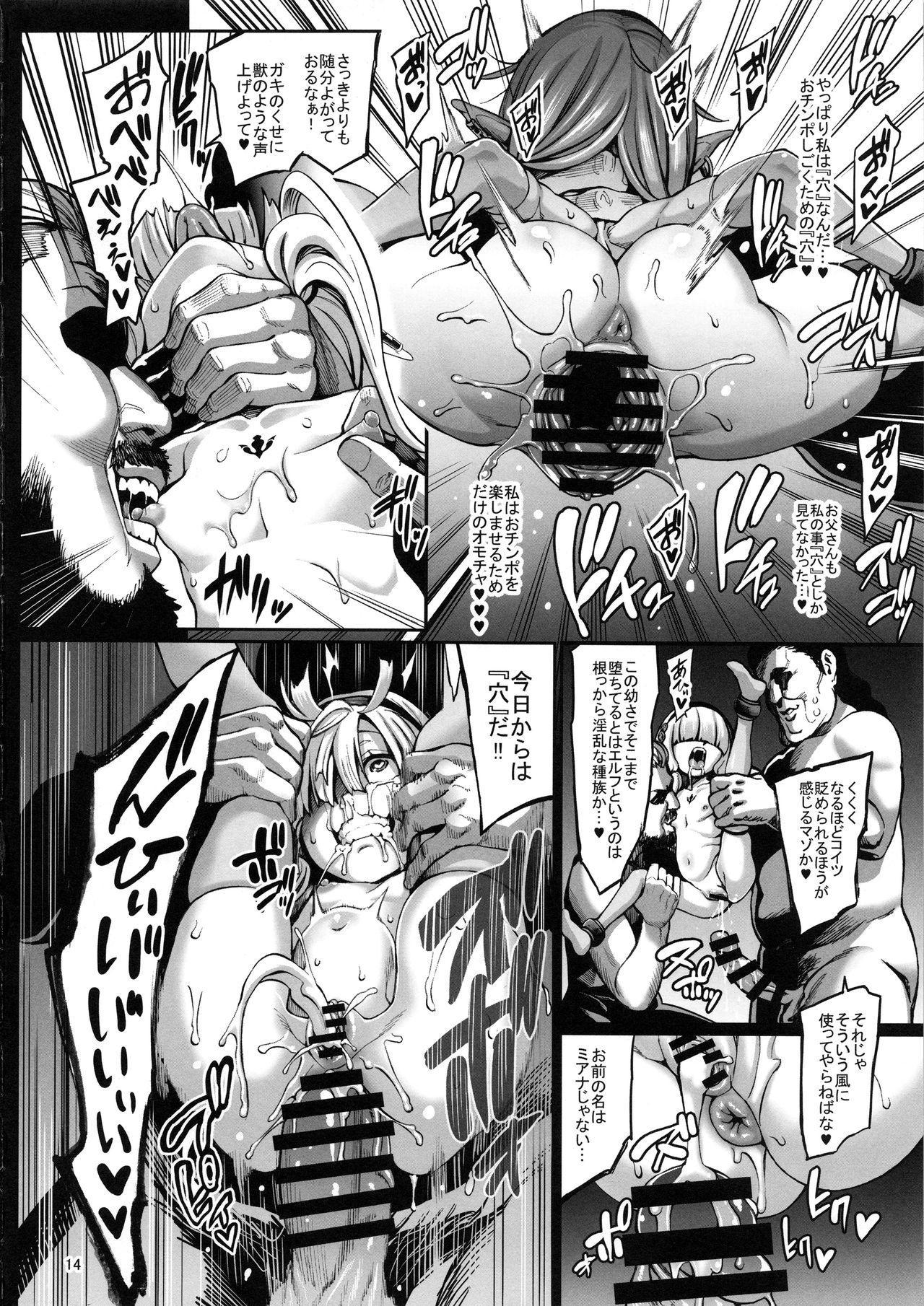 (C96) [Aodouhu (Neromashin)] Houjou no Reizoku Elf 6 ~Higyaku Yousei~ + Omake 14