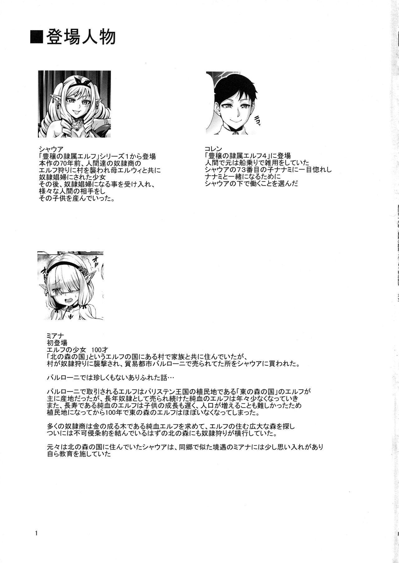 (C96) [Aodouhu (Neromashin)] Houjou no Reizoku Elf 6 ~Higyaku Yousei~ + Omake 1