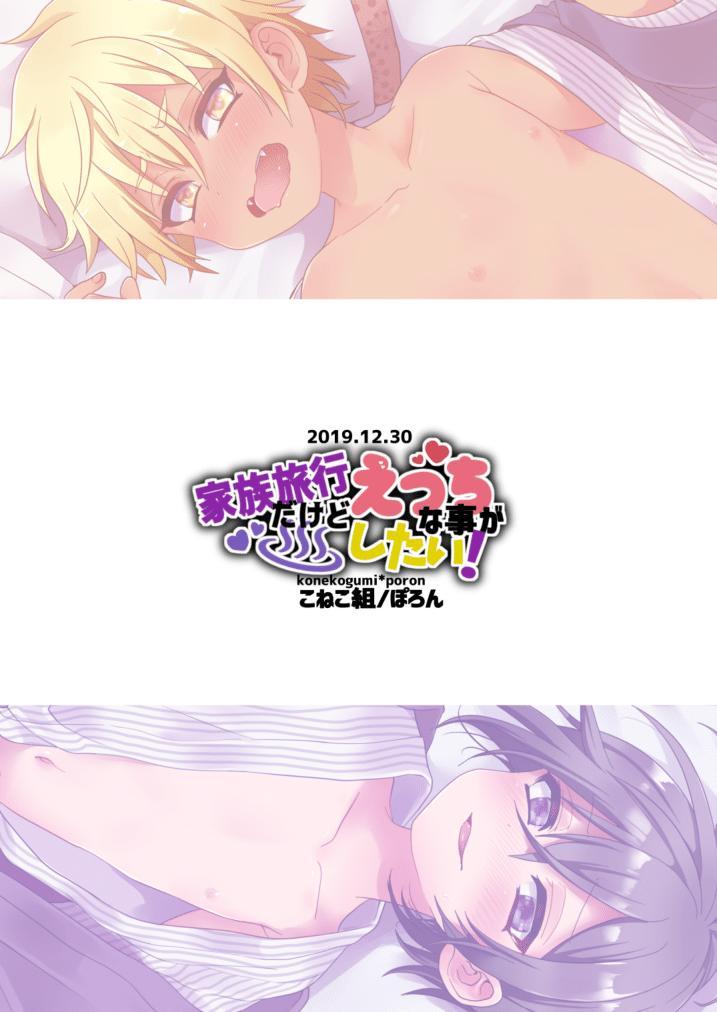 Kazoku Ryokou dakedo Ecchi na Koto ga Shitai! 29