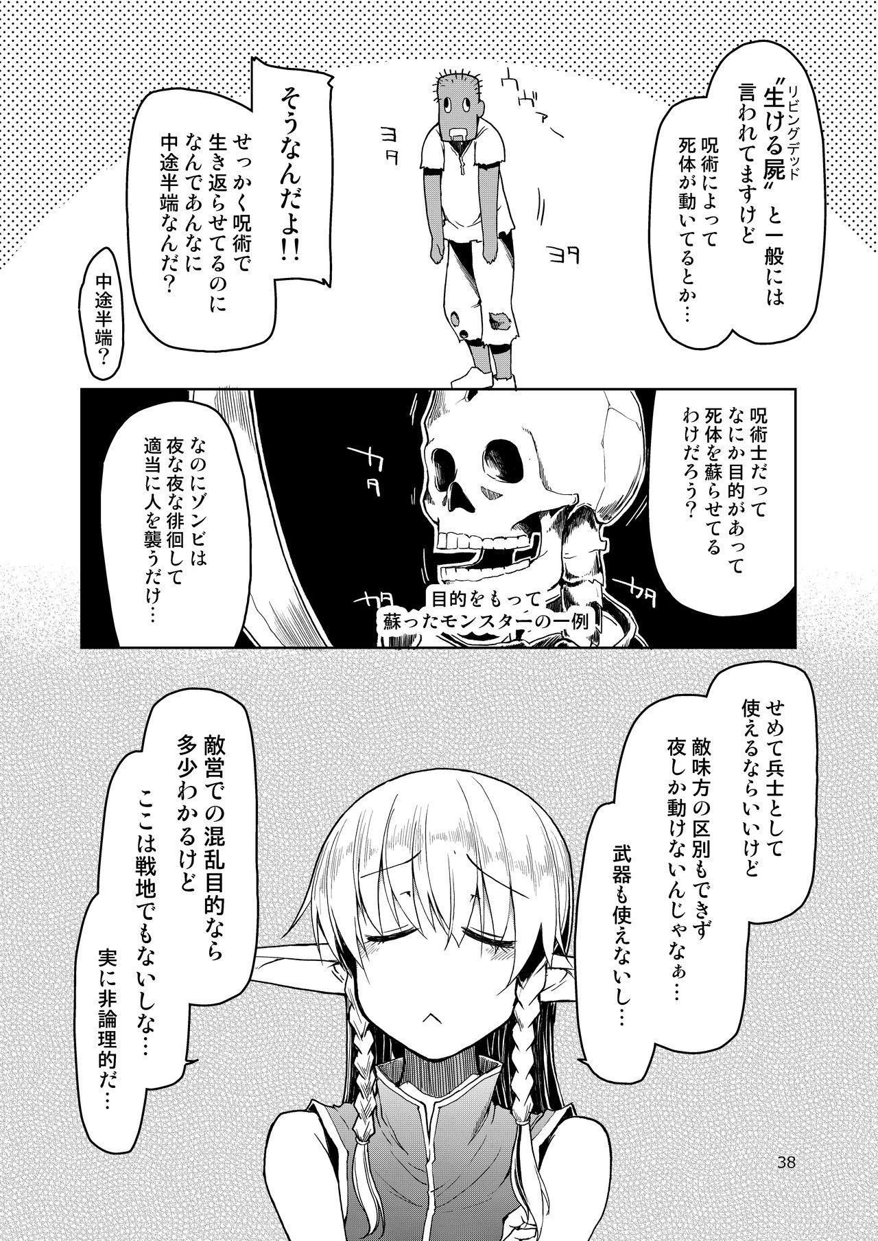 Dosukebe Elf no Ishukan Nikki Matome 2 38