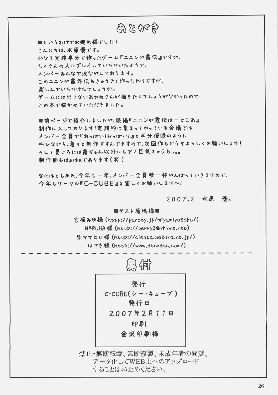 Ninin ga Kasumi Gaiden 24