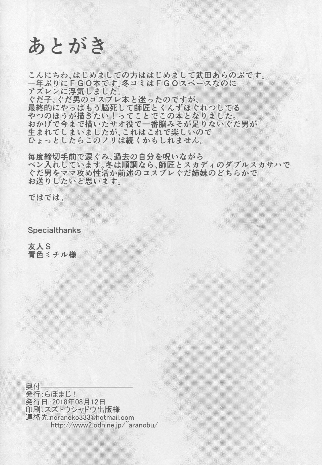 Jibun ni Marude Kyoumi ga Nai Shishou ni Cosplay SEX de Onna no Yorokobi o Sashiugatteiku Seikatsu 20