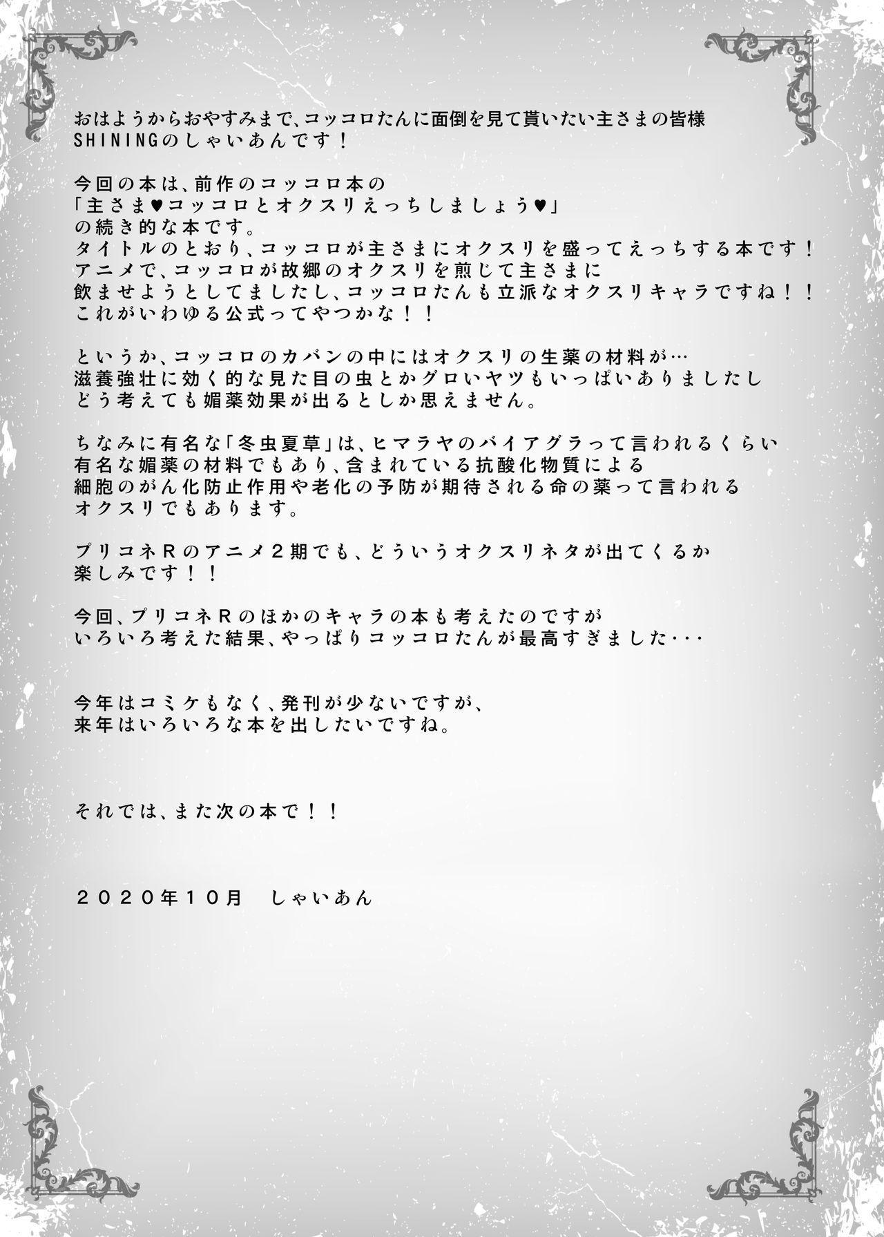 Kokkoro to Aruji-sama no Okusuri Ecchi Nisshi 20