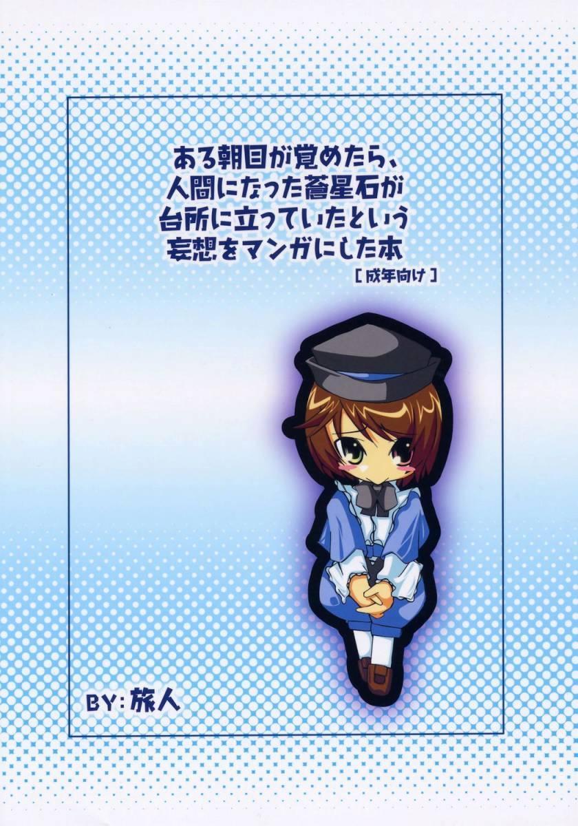 Aru Asa Me ga Sametara, Ningen ni Natta Souseiseki ga Daidokoro ni Tatte ita to Iu Mousou wo Manga ni Shita Hon. 29