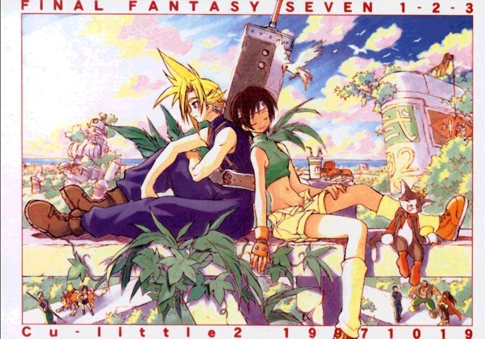 (CR22) [Cu-little2 (Betty, MAGI)] FF7 1-2-3 (Final Fantasy VII) 1