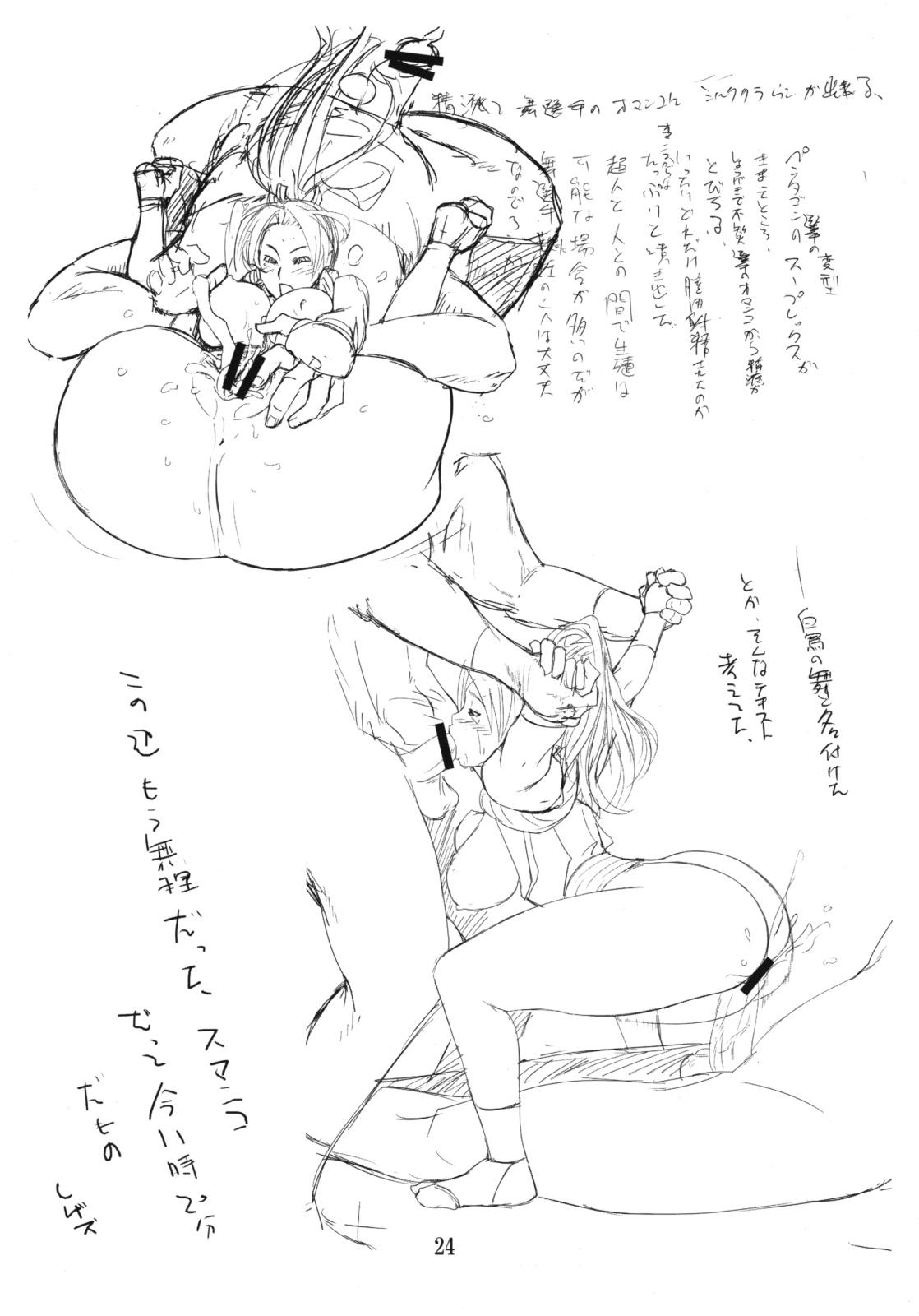 Yojigen Sappou Combi vs Shiranui Mai Round 2 22