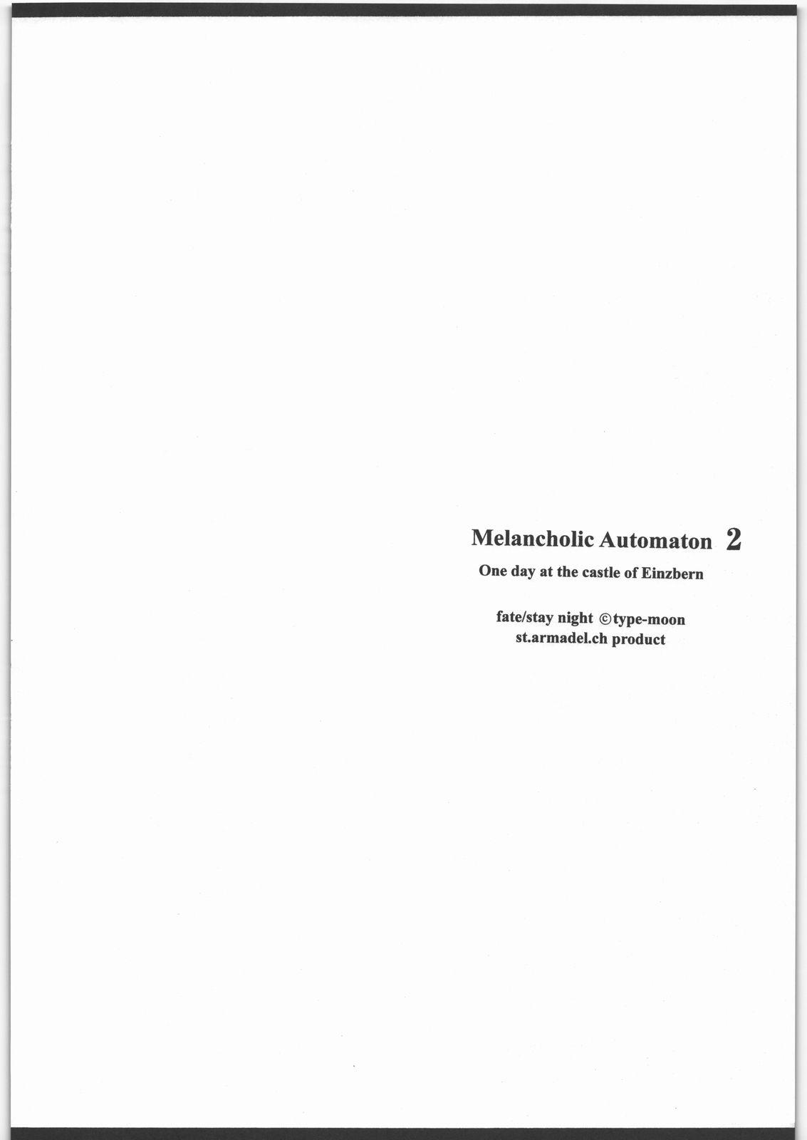 Melancholic Automaton 2 - One day at the castle of Einzbern 2