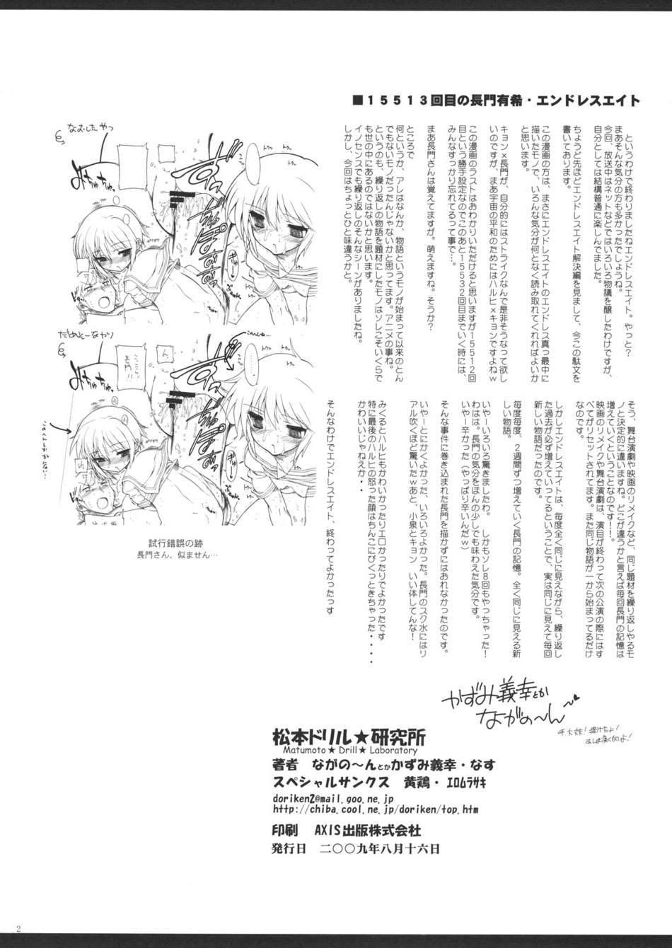 (C76) [Matsumoto Drill Kenkyuujo (Various)] 15513 Kaime no Nagato Yuki (Megane Nashi Ver) | The 15,513th Yuki Nagato (Suzumiya Haruhi no Yuuutsu) [English] [desudesu] 30