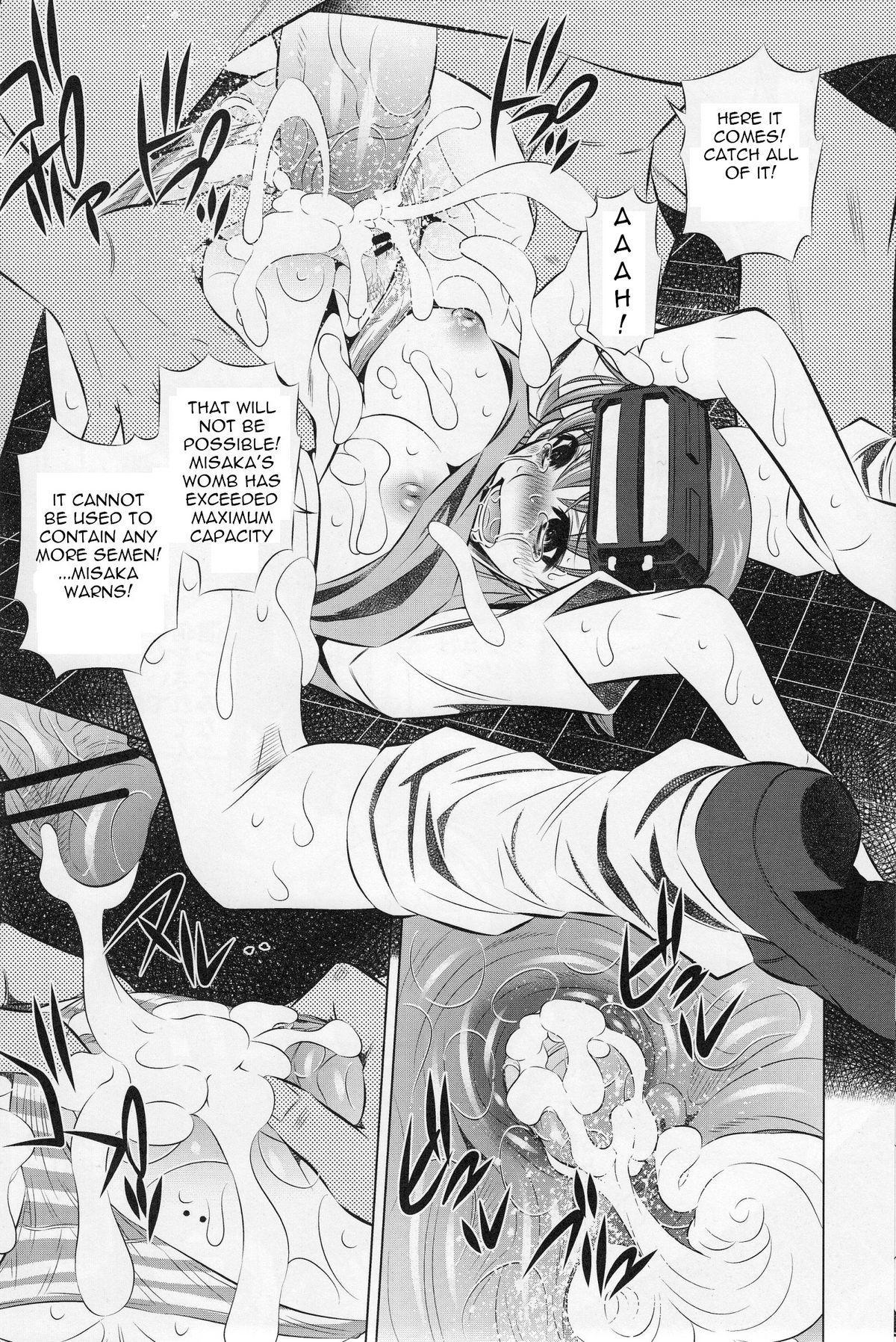 (C77) [Yuugai Tosho Kikaku (Tanaka Naburu)] Kowarekake no Kekkan Denki (radio noise) | Destructive Radio Noise (Toaru Kagaku no Railgun) [English] =Torwyn= 7