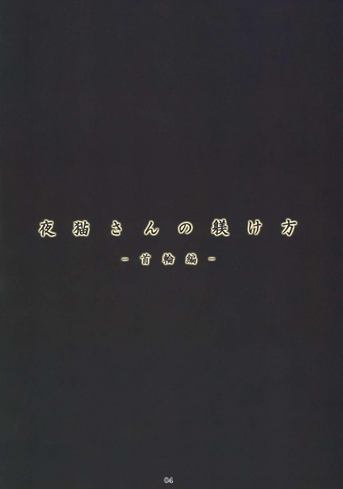 (C76) [Nagaredamaya (BANG-YOU)] Yoruneko-san no Shitsukekata -Kubiwahen- (Bleach) 2