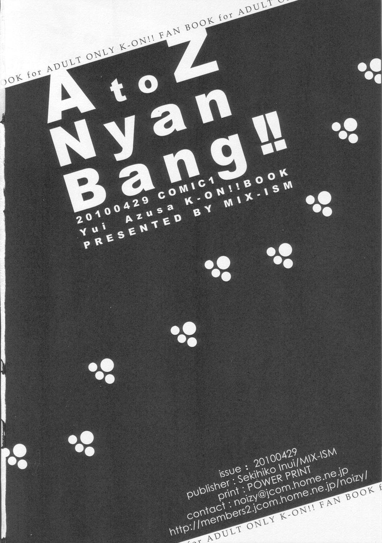 A to Z Nyan Bang!! 24