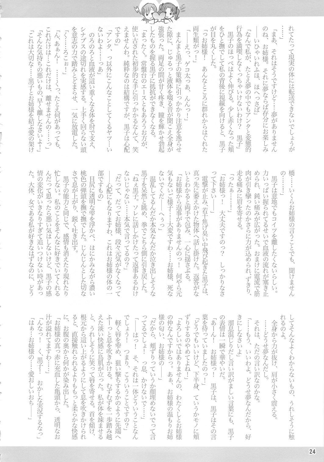 (C78) [Arsenothelus (Rebis)] Toaru Kuroko no Mikoto Kanzen Kouryaku (Toaru Kagaku no Railgun) [English] <desudesu> 22