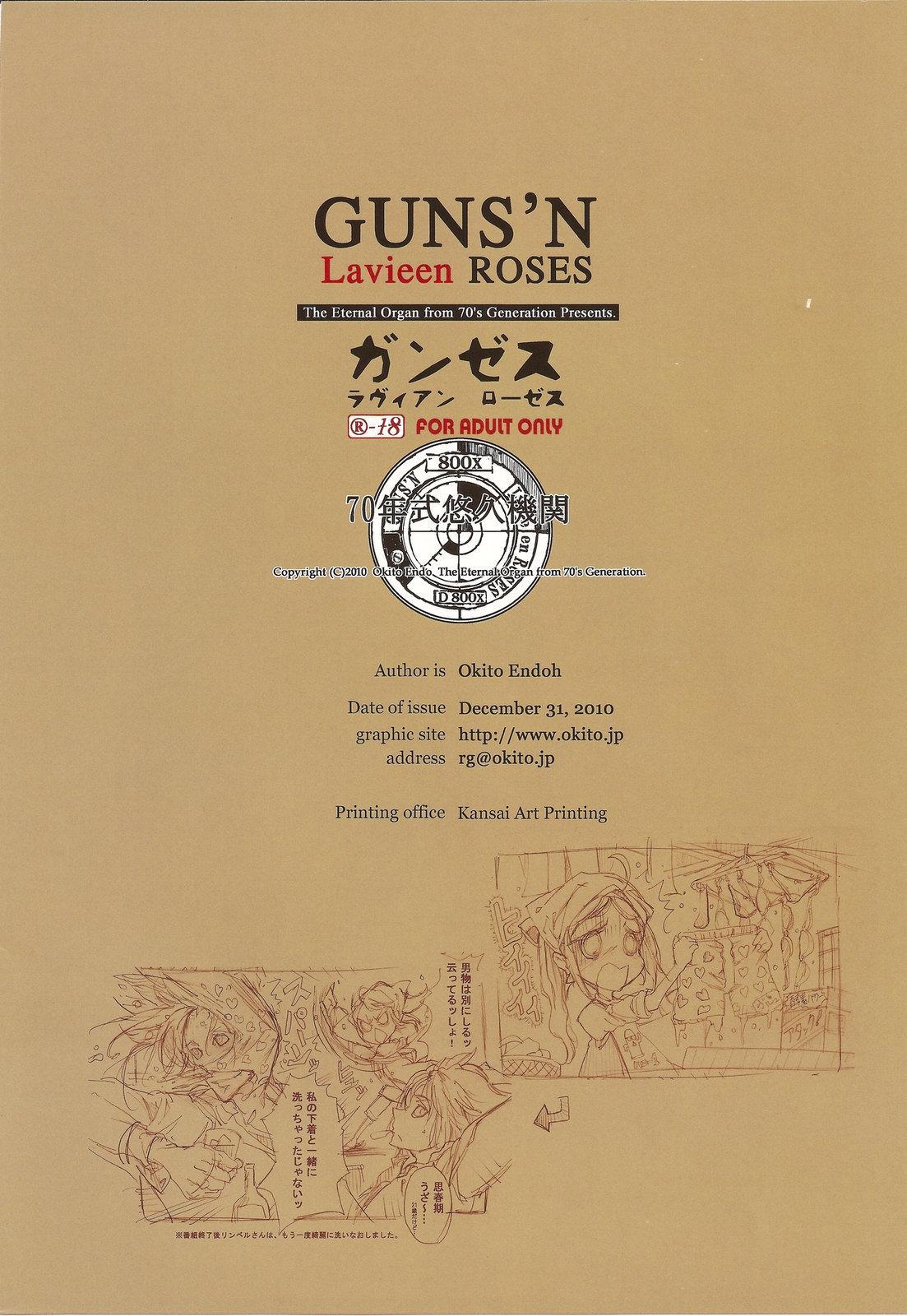 GUNS'N Lavieen ROSES 21