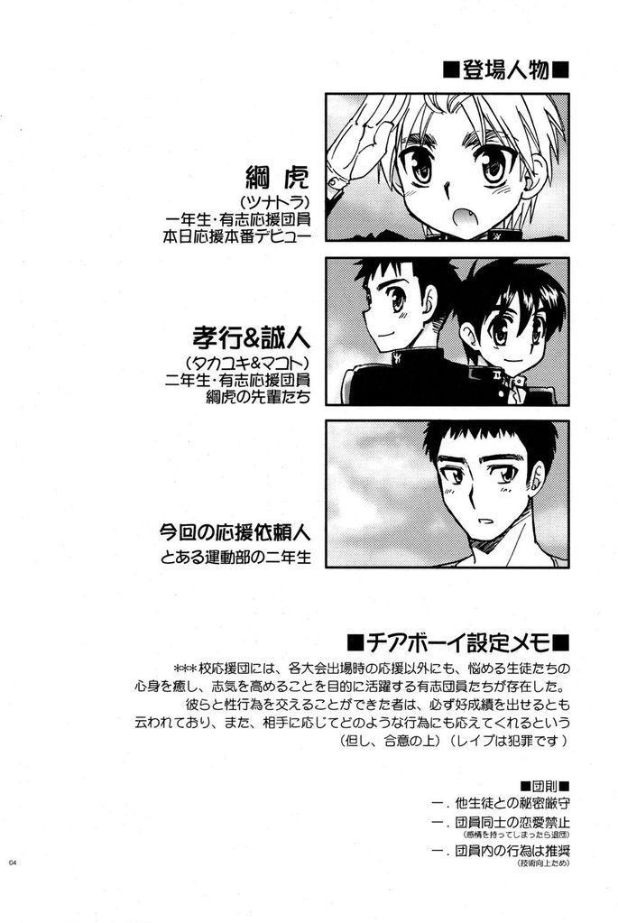 Tachibana Momoya - Cheer Boy Hatsu-Butai 3