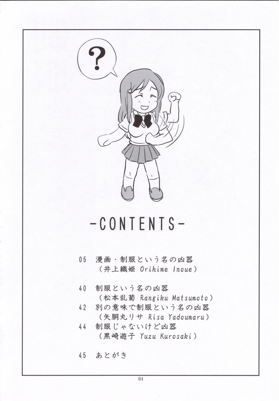 Seifuku To Iu Na no Kyouki 2