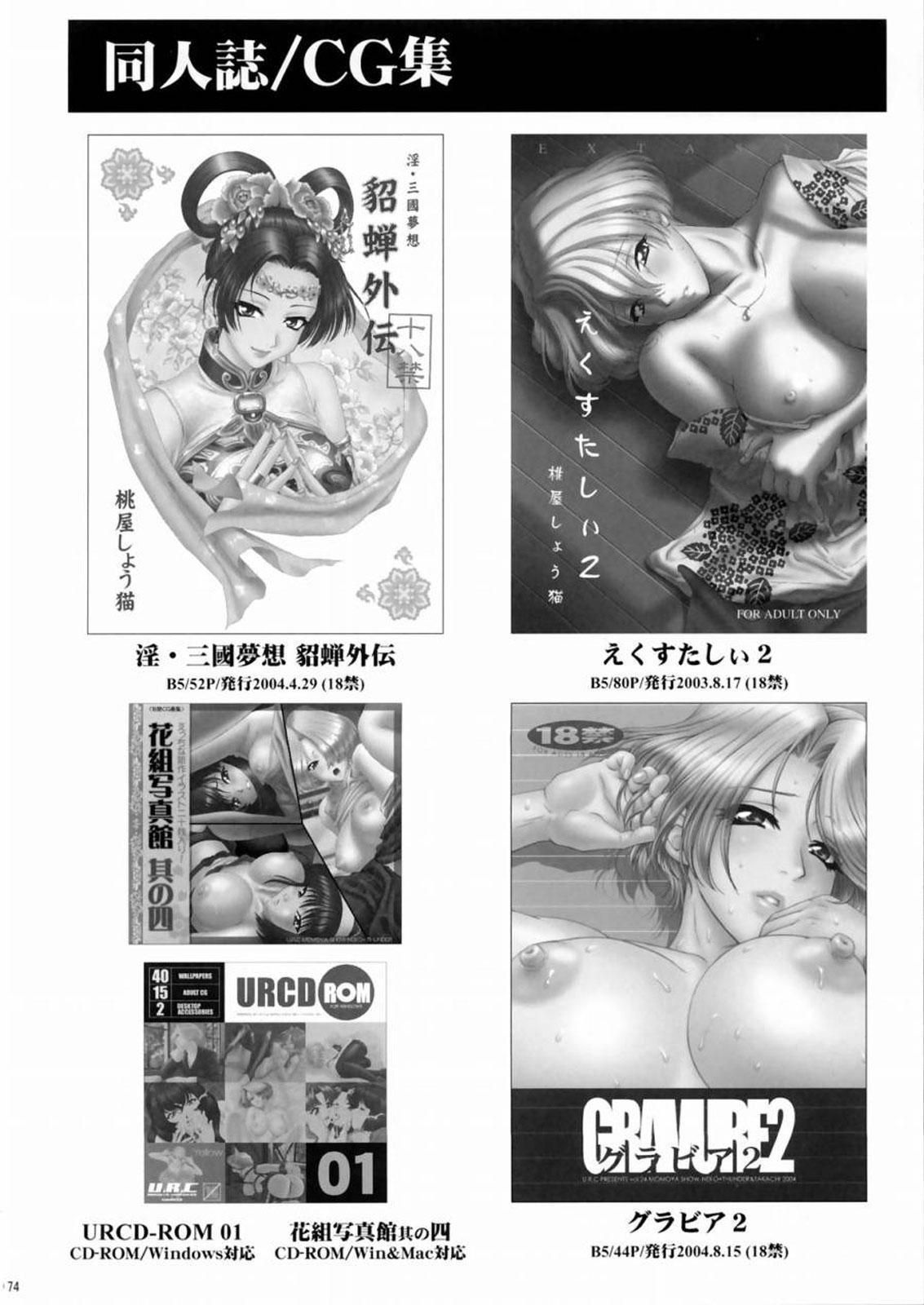 (C66) [U.R.C (Momoya Show-Neko)] Rikuson-chan ~Lovely Gunshi no Himitsu~ | Rikuson-chan Secret of The Lovely Strategist (Dynasty Warriors) [English] [SaHa] 72