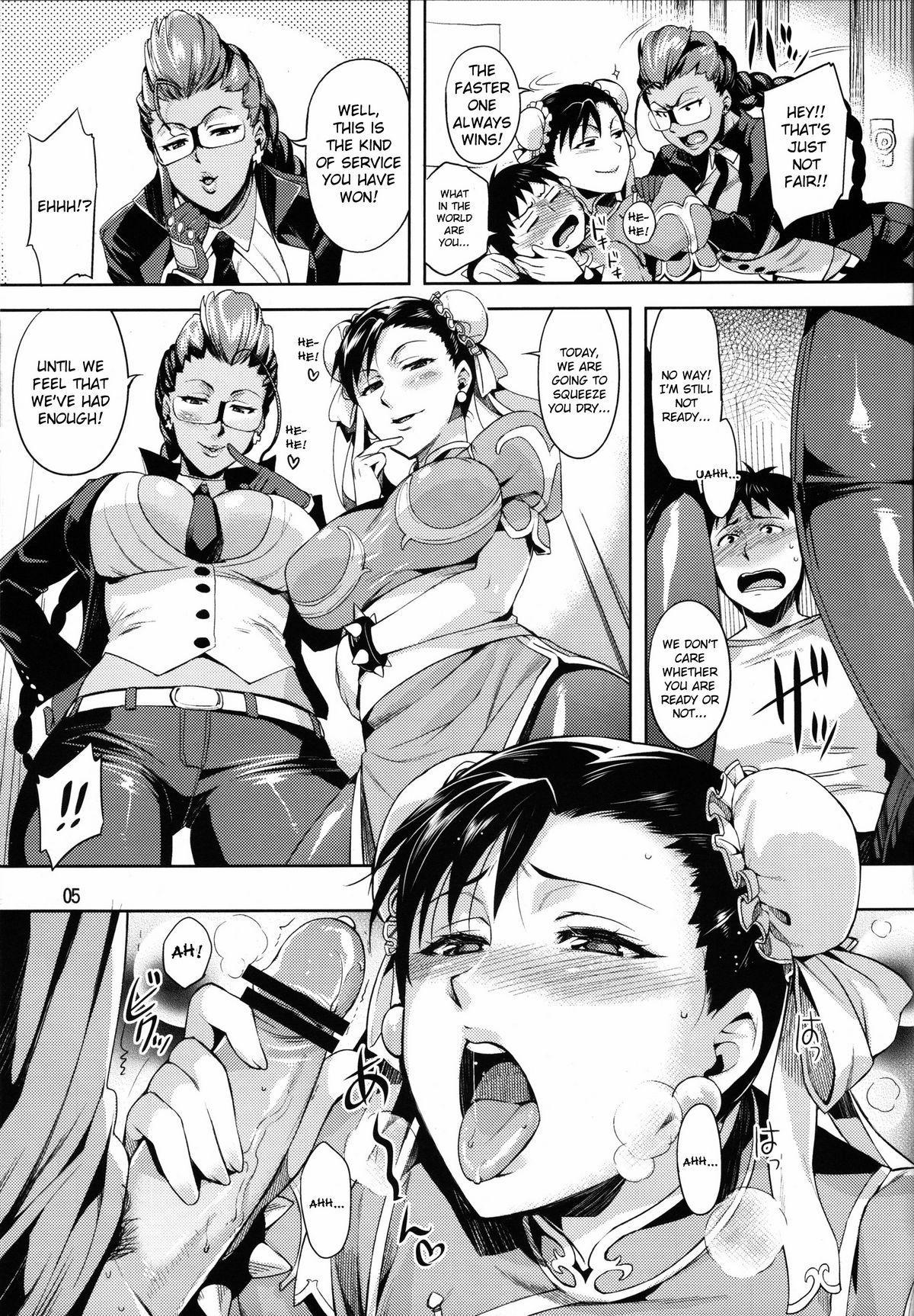(COMIC1☆5) [ReDrop (Miyamoto Smoke, Otsumami)] Haru no Chun-Li Bon   The Chun-Li Spring Book (Street Fighter) [English] {doujin-moe.us} 4