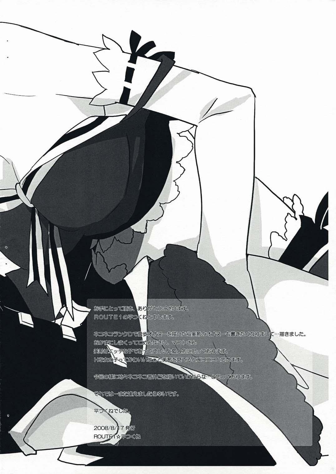 (C71) [ROUTE1 (Taira Tsukune)] NEKONEKO[M]   NekoNeko Rank M (THE iDOLM@STER) [English] =IKO= 6