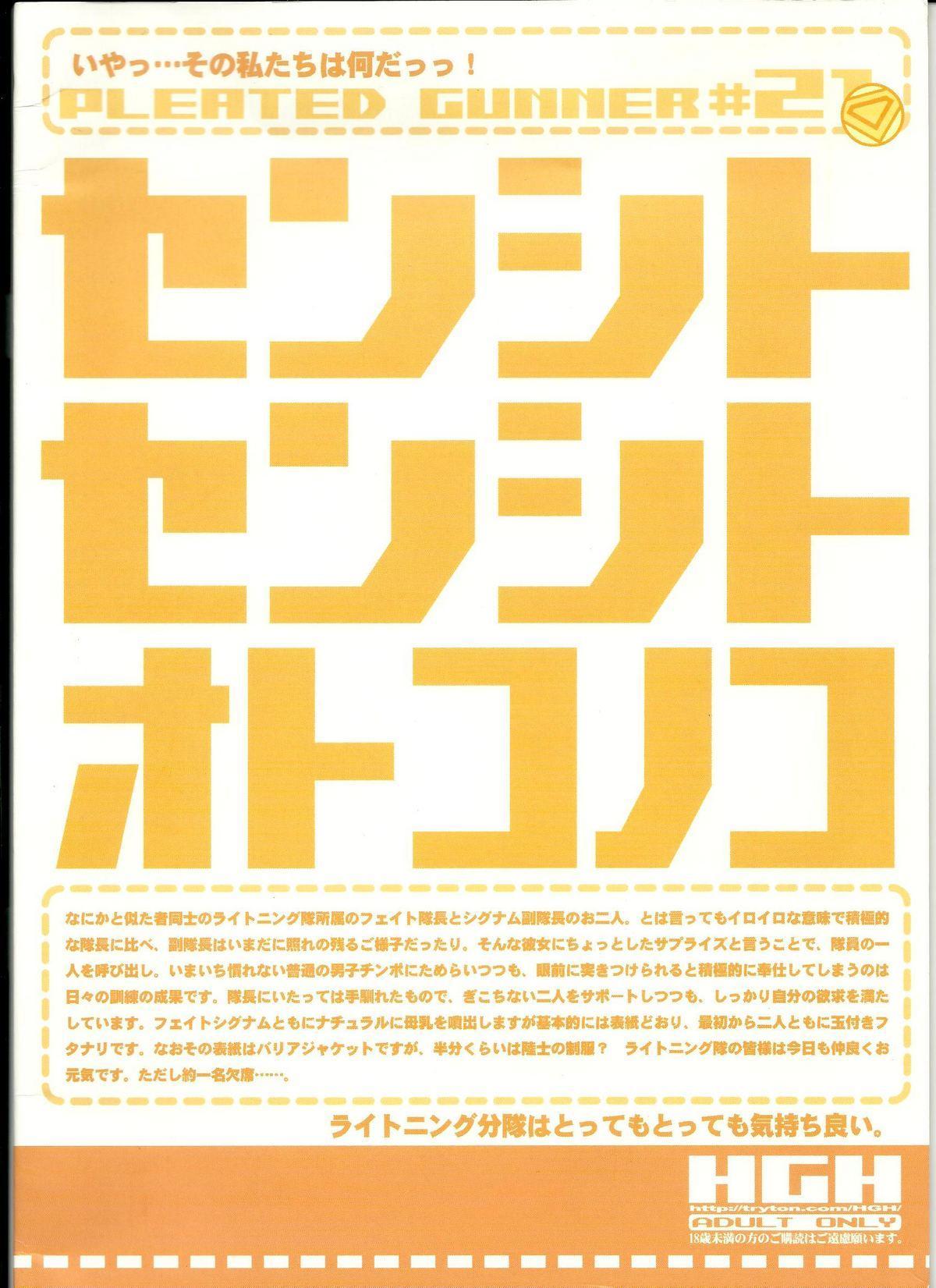 (C78) [HGH (HG Chagawa)] PG -PLEATED GUNNER- #21 - Senshi to Senshi to Otokonoko (Mahou Shoujo Lyrical Nanoha) 22