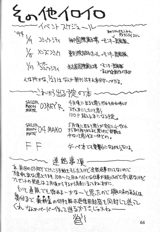 Dengeki Monkey Reppuutai V 66