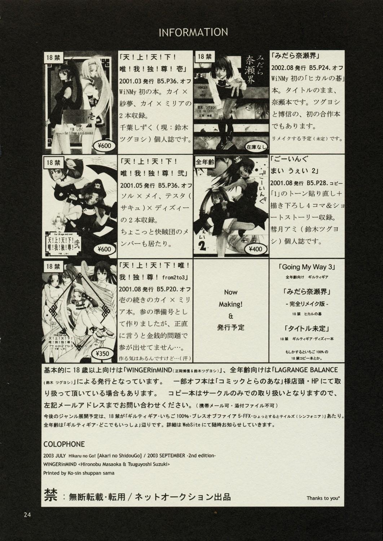 Akari no Shidou Nochi 22