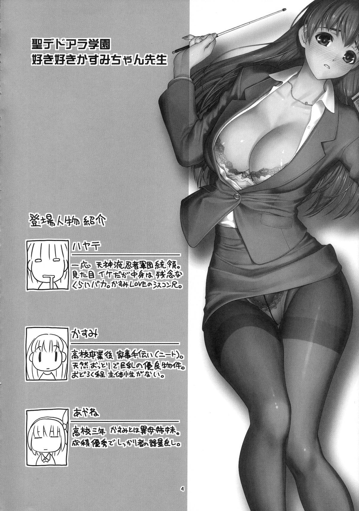 St. Dead or Alive Highschool - Love Love Kasumi Chan Teacher 2