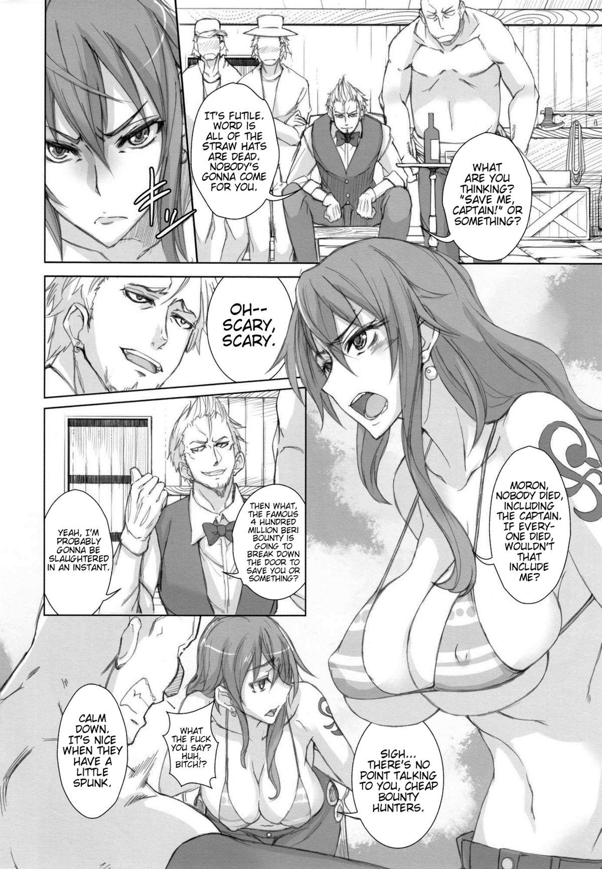 (C82) [Majimeya (isao)] GrandLine Chronicle 2 Rainyuu | GrandLine Chronicle 2 - Thunder-Tits (One Piece) [English] {doujin-moe.us} 2