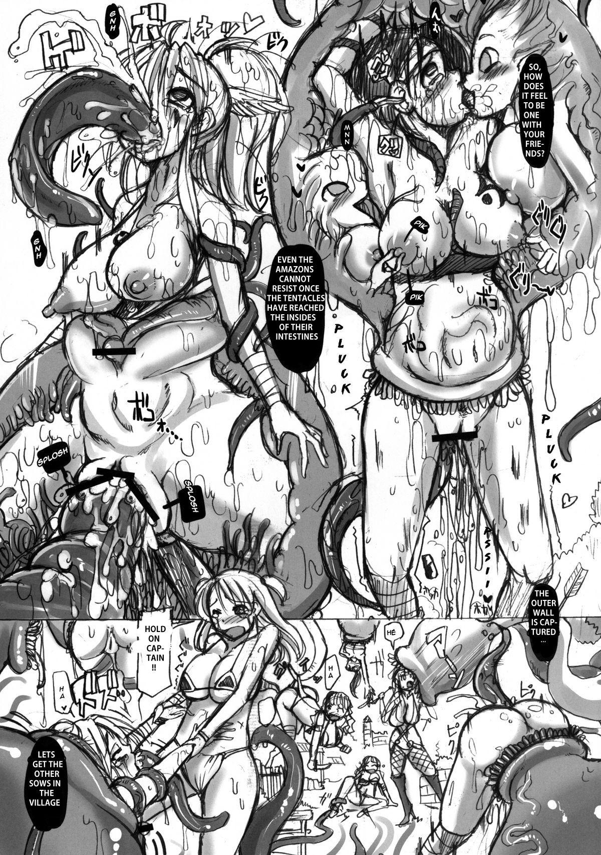 Amazons Shuuraku Marugoto Nikubenki-ka Keikaku   Plan to Transform the Amazons Into Sex Objects 5